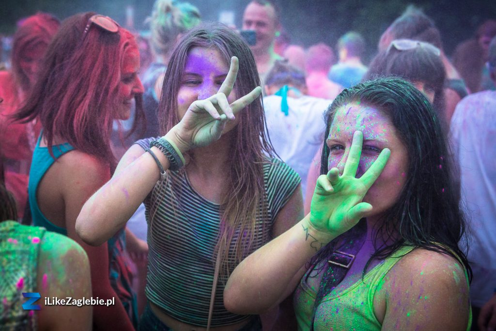 Explosion of Colours - Holi in Sosnowiec
