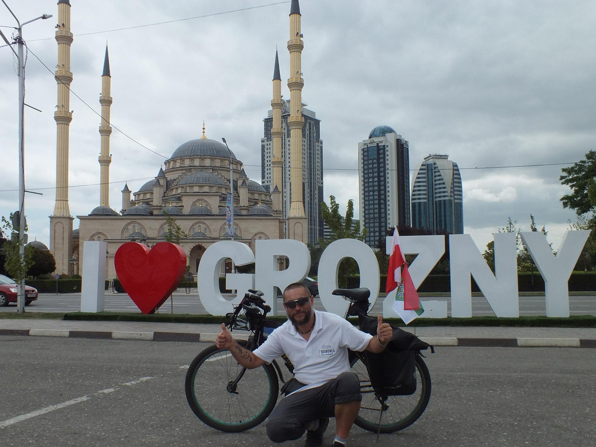 Waldek Malina w Czeczeni