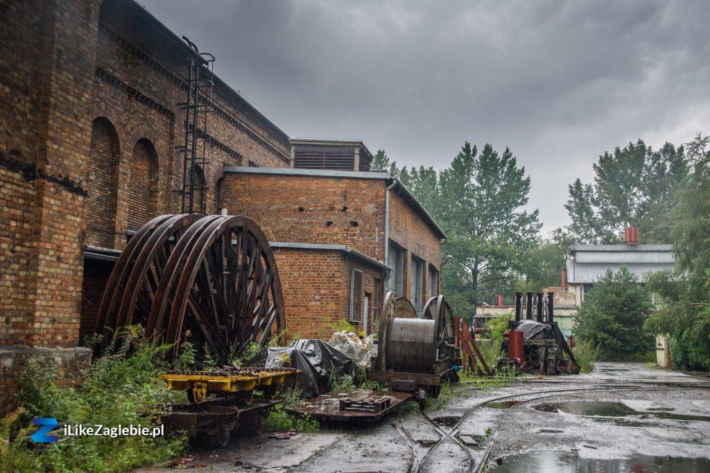 "Na terenie kopalni KWK ""Kazimierz-Juliusz""Inside the area of ""KWK Kazimierz-Juliusz"" coal mine"