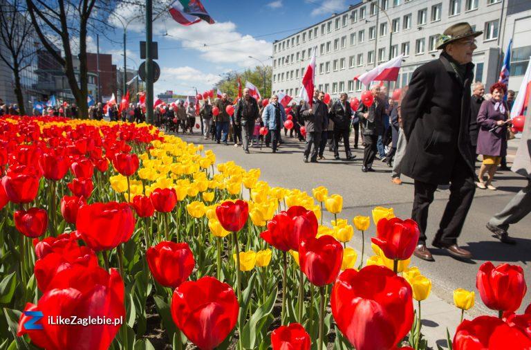 Pierwszy Maja w Sosnowcu [Galeria]